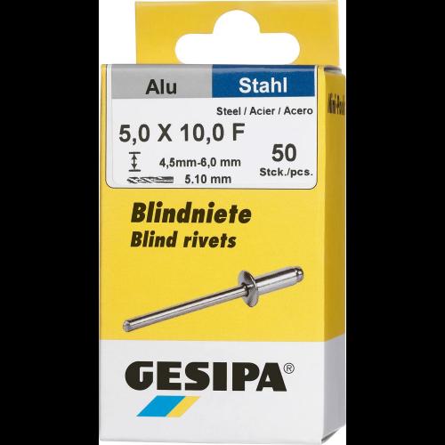 Gesipa Mini-Pack Acier//Acier 3x12mm